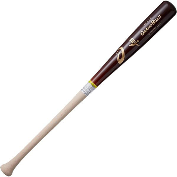 アシックス asics 3121a254-202 硬式野球用木製バット GRAND ROAD