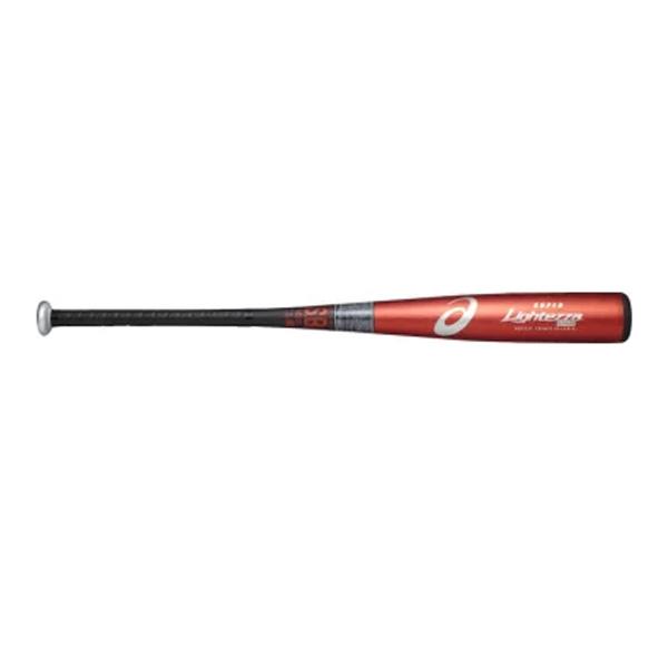 アシックス asics bb17j1-2390 野球 少年軟式用金属バット SUPER LIGHTEZZA スーパーライテッザ ライトバランス(手元バランス)