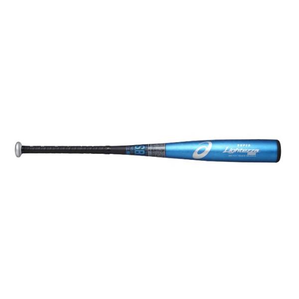 アシックス asics bb17j1-4390 野球 少年軟式用金属バット SUPER LIGHTEZZA スーパーライテッザ ライトバランス(手元バランス)