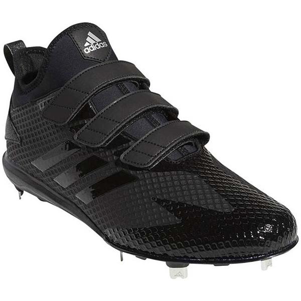 アディダス adidas b41586 アディゼロ スピード8 LOW 野球スパイク メンズ ブラック