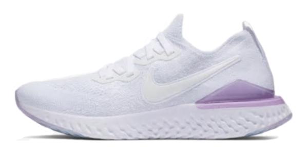 ナイキ Nike ウイメンズ エピック リアクト フライニット2 NEW レディースランニングシューズ BQ8927-101 (ホワイト/ピンクフォーム/ホワイト)