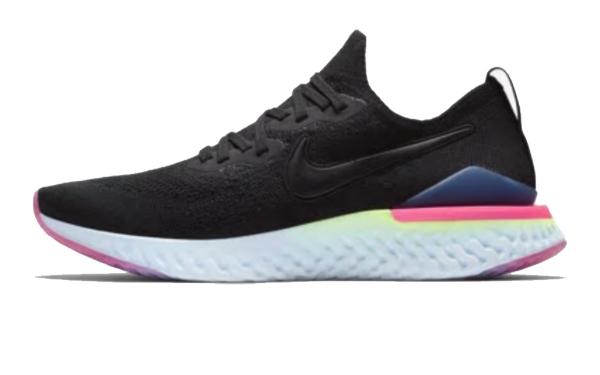 ナイキ Nike エピック リアクト フライニット3 NEW メンズランニングシューズ BQ8928-003 (ブラック/サファイア/ライムブラスト/ブラック)