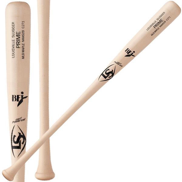 ルイスビルスラッガー LOUISVILLE Slugger wtlnams09-mlbmpl 硬式 バット PRIME MLB メープル 木製 BFJマーク入 野球部 木製バット
