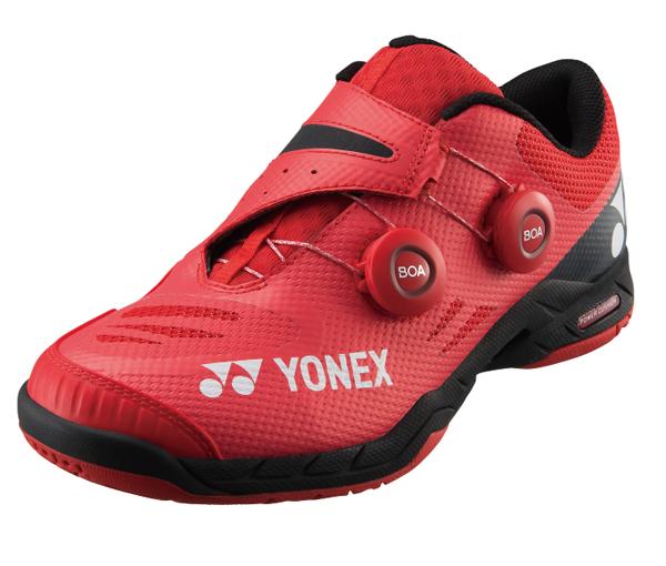 ヨネックス YONEX パワークッションインフィニティ NEW バドミントンシューズ SHBIF-001(レッド)