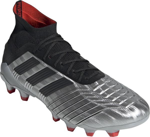 アディダス adidas プレデター19.1-ジャパンHG/AG NEW サッカースパイク EF8994(シルバーメット/コアブラック/ハイレゾレッドS18)