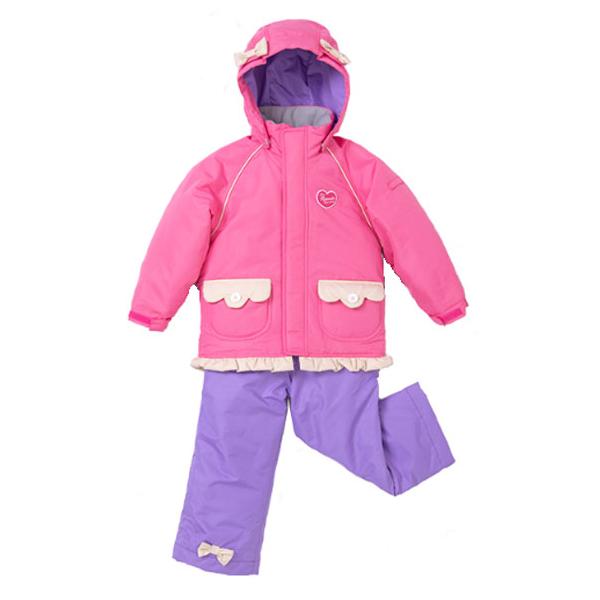 レセーダ RESEEDA res51002-962833 ジュニア スキーウェア 上下セット トドラー スーツ TODDLER SUIT アイボリー/ピンク キッズ 男の子 女の子