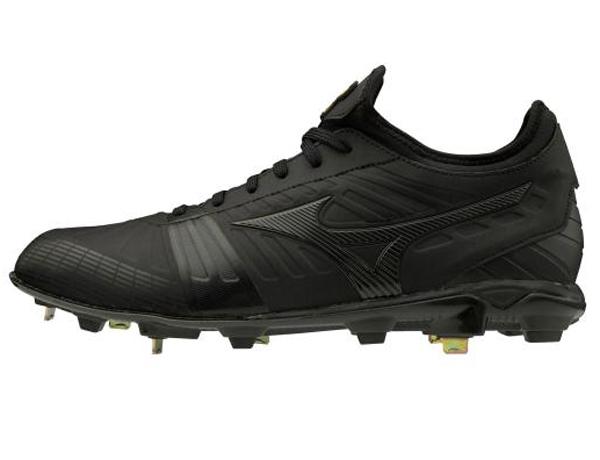 ミズノ MIZUNO ミズノプロPS2(ユニセックス)NEW 野球スパイク 11GM2000-00(ブラック×ブラック)