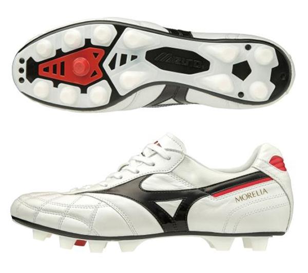 ミズノ MIZUNO モレリアIIJAPAN(ユニセックス)NEW サッカースパイク P1GA2002-09(スーパーホワイトパール×ブラック)