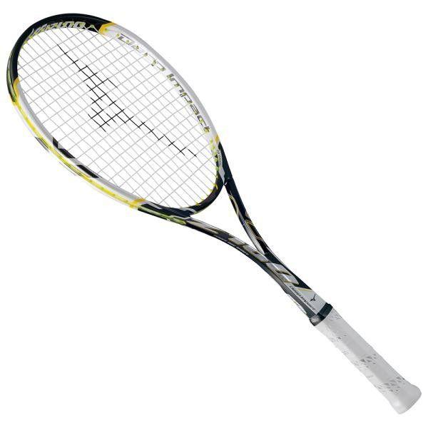 ミズノ ディープインパクト Z-100 15FW ソフトテニスラケット 63JTN660-09 (ブラック×ホワイト)