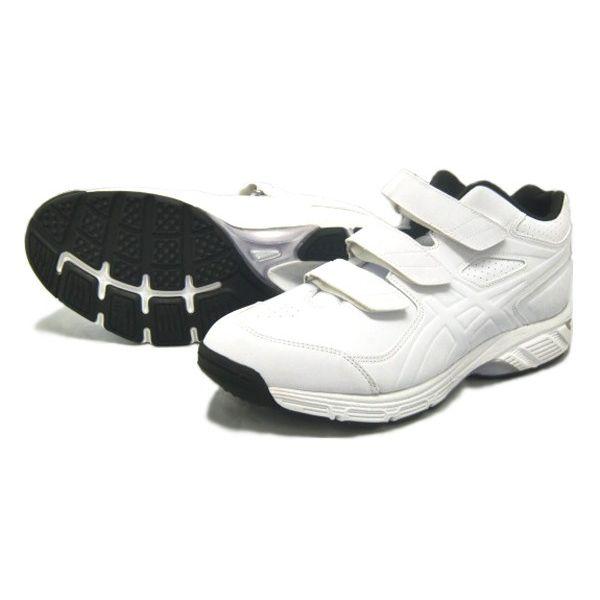アシックス ,ゴールデンステージ)ビートインパクト プラス 16SS 野球 トレーニングシューズ SFT11-0101 (ホワイト×ホワイト)