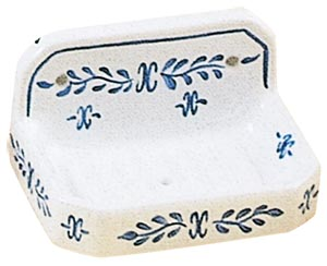 送料無料 スペイン製ハンドペイント柄色はポンペイアン ブルー同シリーズのサニタリーグッズもございます スペイン製ソープディッシュ スーパーセール期間限定 石鹸置き 輸入 ブルーポンペイヤシリーズ サニタリーグッズ 陶器