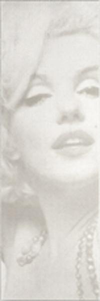 イタリア製タイル マリリン・モンロー(ホワイト) 【壁面装飾 壁掛タイル】