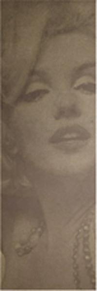 往年のスターがインテリアの一部に イタリア製タイル マリリン モンロー モカ 輸入品 壁掛タイル オブジェ インテリア デコレーション 絵画 店内全品対象 大放出セール 壁面装飾