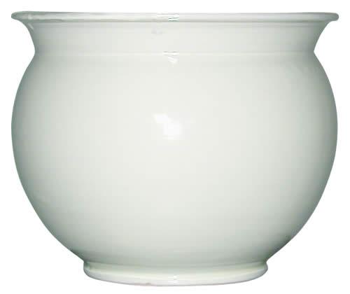 ポット ホワイト (陶器)