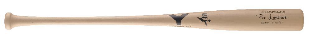 【野球 ヤナセ 硬式木製バット BFJ】ヤナセ 硬式用木製バット(YUM-611) ■84.5cm(900g平均) ■ナチュラル ■北米産メイプル ■トップバランス ■BFJマーク付き ■社会人野球 ■大学野球