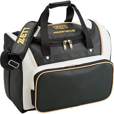 【野球 ゼット プロステイタス セカンドバッグ】ゼット プロステイタス セカンドバッグ(BAP517) ■約42L ■ブラック×ホワイト