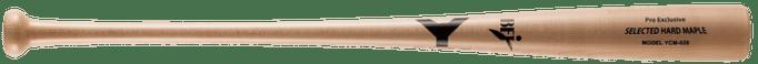 【野球 ヤナセ 硬式木製バット BFJ】ヤナセ メイプル1本木 硬式用木製バット(YCM-726) ■84.5cm(900g平均) ■ナチュラル ■ミドルバランス ■グリップエンドは丸く大きめ、グリップは太くバランス重視で振り易い ■BFJマーク付き ■社会人野球 ■大学野球