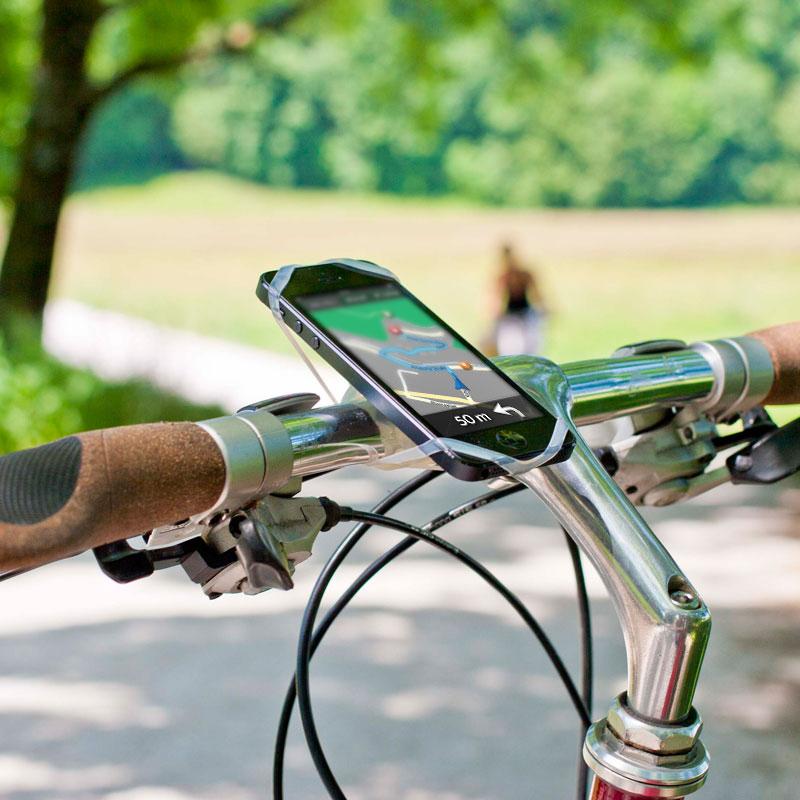 スーパーセール 高品質 シリコン 自転車 スマートフォン ホルダー スマホホルダー どんなスマホ ハンドルにも簡単に取り付OK ケースの上 iphone XperiaもOK 送料無料 自転車用 自転車用品 FINN スタンド ロードバイク 携帯ホルダー スマホスタンド フィン アクセサリー スマホ 高級 ママチャリ スマートフォンホルダー 便利グッズ 固定