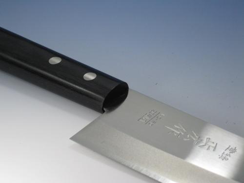 正広 割込み包丁 宅配便送料無料 正広作 三徳型刃渡:165ミリ 買い物 MC-80 MC割込包丁