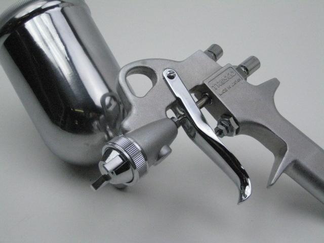 スプレーパターンが安定 セール価格 用途が広範囲 トラスコスプレーガンセット 重量式ガンカップ付 評判 35S80