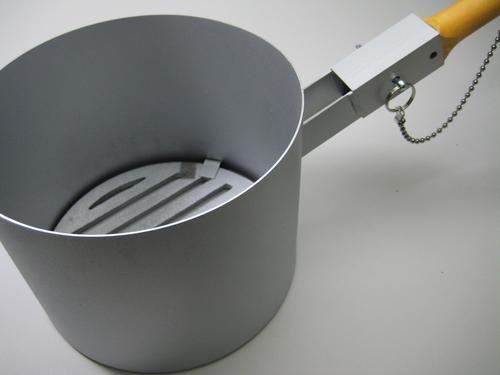 業務用で調理人の味方の火お越し 公式ストア ひおこし 鋳物目皿付ジャンボ火起し 2021MA 木柄火起こし 再販ご予約限定送料無料 50S100
