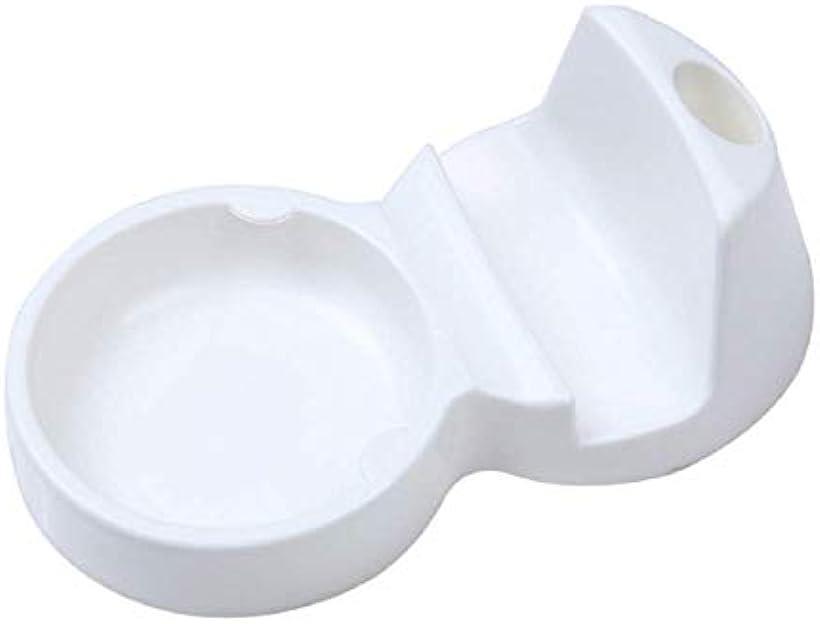 BEATON JAPAN おたま置き おたま立て 菜箸 鍋蓋 まな板 しゃもじ 多機能 スタンド キッチン アイデア グッズ 衛生的[O112](ホワイト)