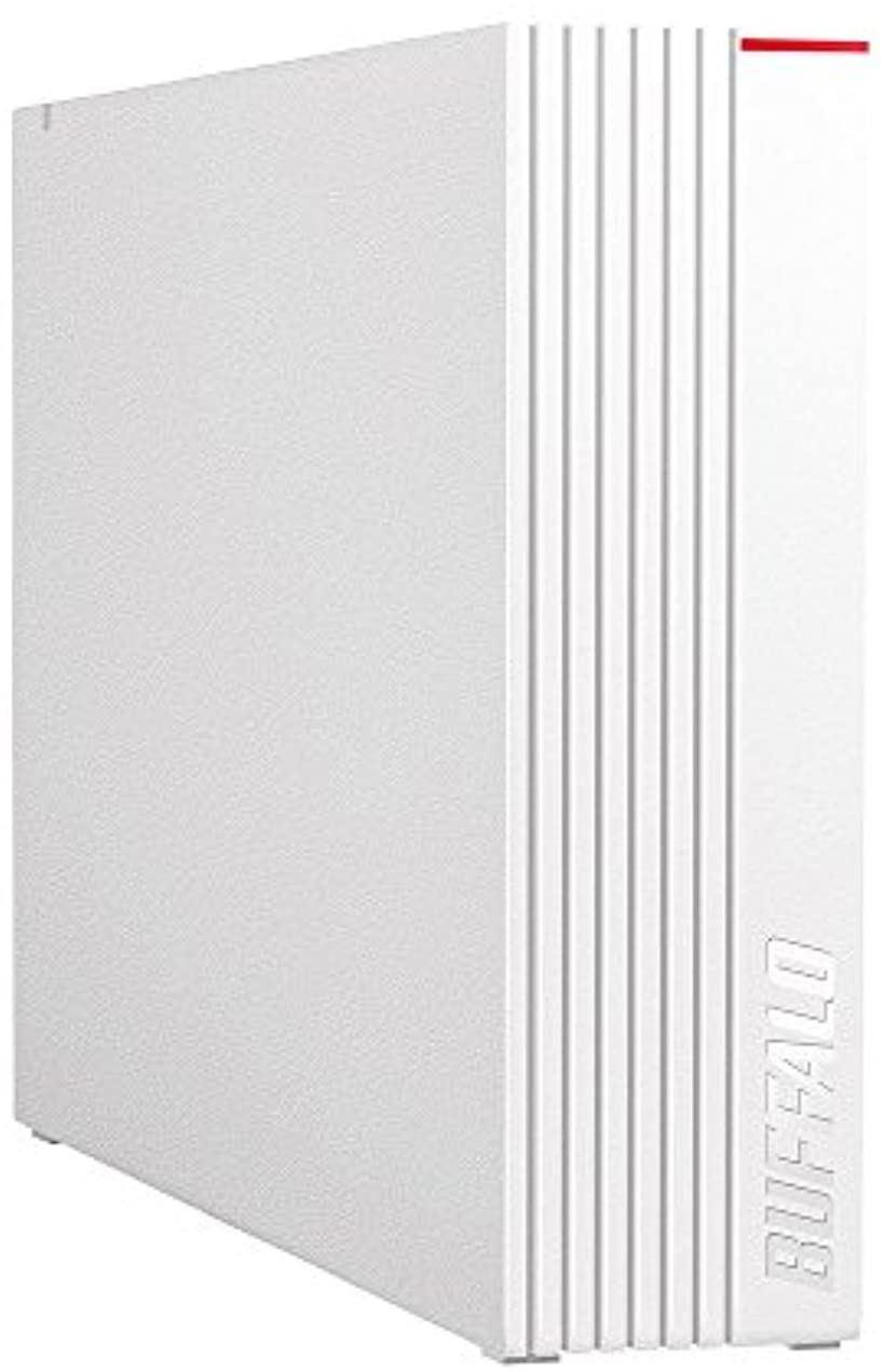 BUFFALO USB3.1 Gen.1対応 外付けHDD 4TB HD-LD4.0U3-WHA(ホワイト)