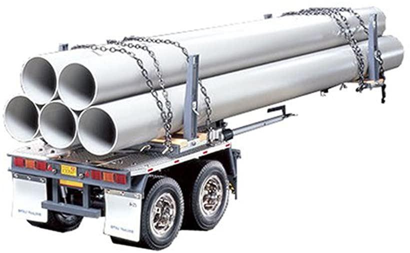 1/14 電動RCビッグトラックシリーズ No.10 トレーラートラック用 ポールトレーラー ラジコン 56310