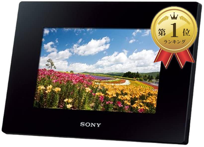 デジタルフォトフレーム S-Frame D720 7.0型 内蔵メモリー2GB DPF-D720/B(ブラック)