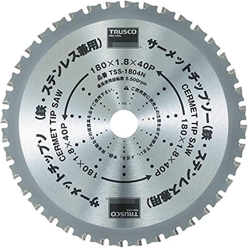 トラスコ サーメットチップソー 305X56P TSS30556N(TSS30556N 305X56P)