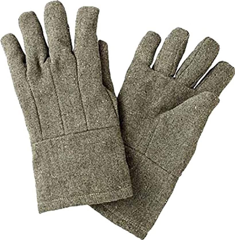 パイク溶接保護具5本指手袋 PYRT5(ブラウン)