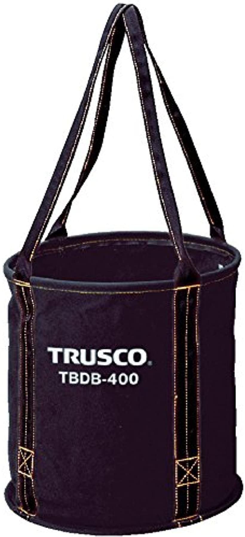 トラスコ 大型電工用バケツ ブラック Φ450X450 TBDB-450(ブラック, Φ450x450)