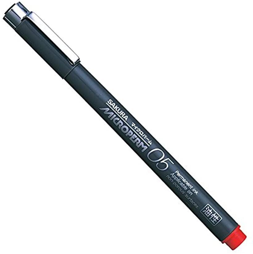<title>サクラクレパス ◆高品質 油性ペン マイクロパーム05 赤 10本 05あか</title>