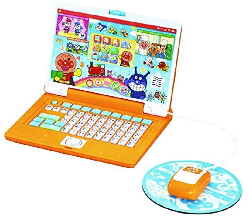 アンパンマン あそんでまなべる マウスでクリック アンパンマンパソコン