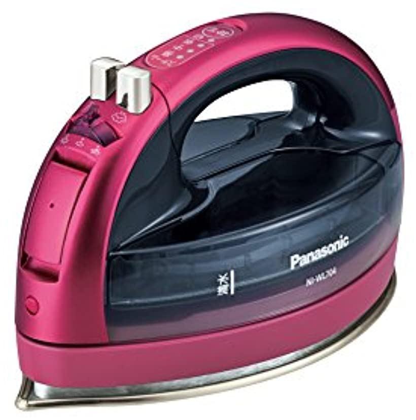 コードレススチームWヘッドアイロン NI-WL704-P(ピンク)