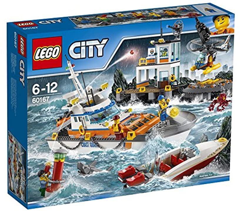 LEGOシティ 海上レスキュー隊と司令基地 [60167] [レゴ (LEGO)]