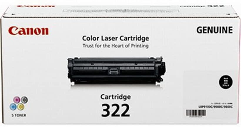 CANON トナーカートリッジ322ブラック 2652B001 CN-EP322BKJ[CRG-322BLK]