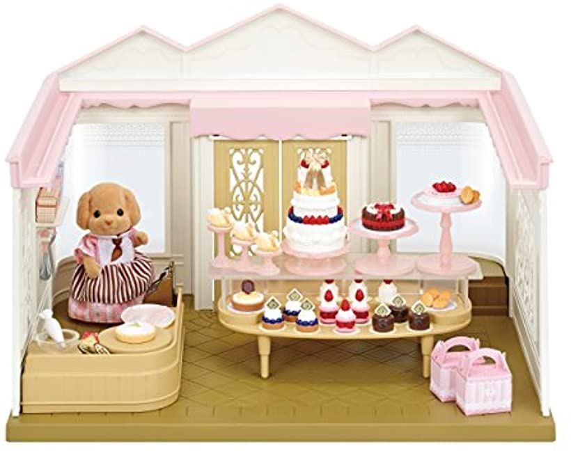 シルバニアファミリー お店 こだわりパティシエのケーキ屋さん ミ-83