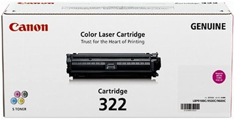 CANON トナーカートリッジ322マゼンダ 2648B001 CN-EP322MGJ[CRG-322MAG]