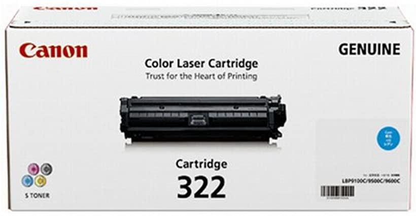 CANON トナーカートリッジ322シアン 2650B001 CN-EP322CYJ[CRG-322CYN]