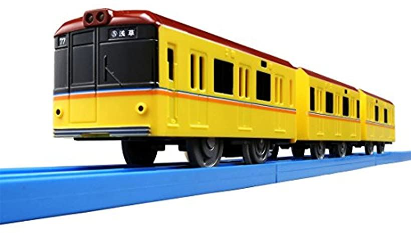 プラレール ぼくもだいすき.楽しい列車シリーズ ライト付東京メトロ銀座線 1000系