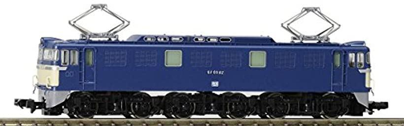 TOMIX Nゲージ EF60 3次形 鉄道模型 電気機関車 9166:OHstore