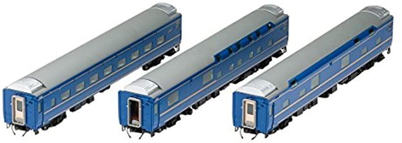 TOMIX HOゲージ 24系 25形 特急寝台客車 北斗星 JR東日本仕様 増結セット HO-9011