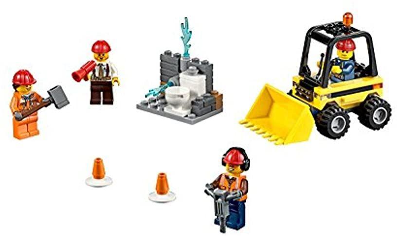 レゴ LEGO 新作製品、世界最高品質人気! 爆安 シティ 解体工事スタートセット 60072
