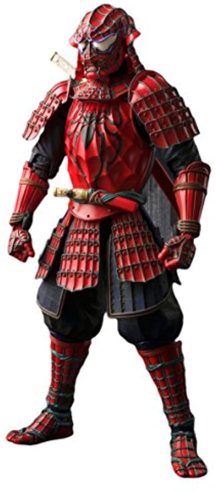 名将 MANGA REALIZATION スパイダーマン 侍スパイダーマン 約180mm PVC&ABS製 塗装済み可動フィギュア[BAN06234](全高:約180mm)
