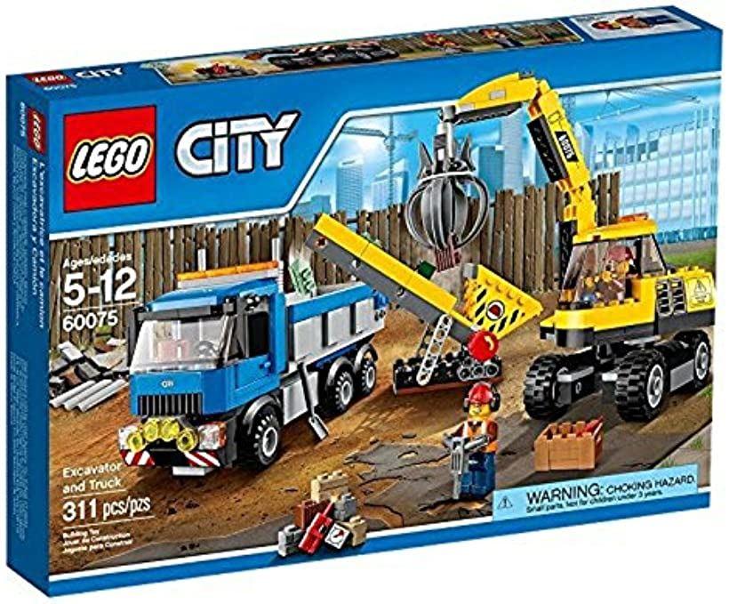 シティ パワーショベルとトラック [60075] [レゴ (LEGO)]