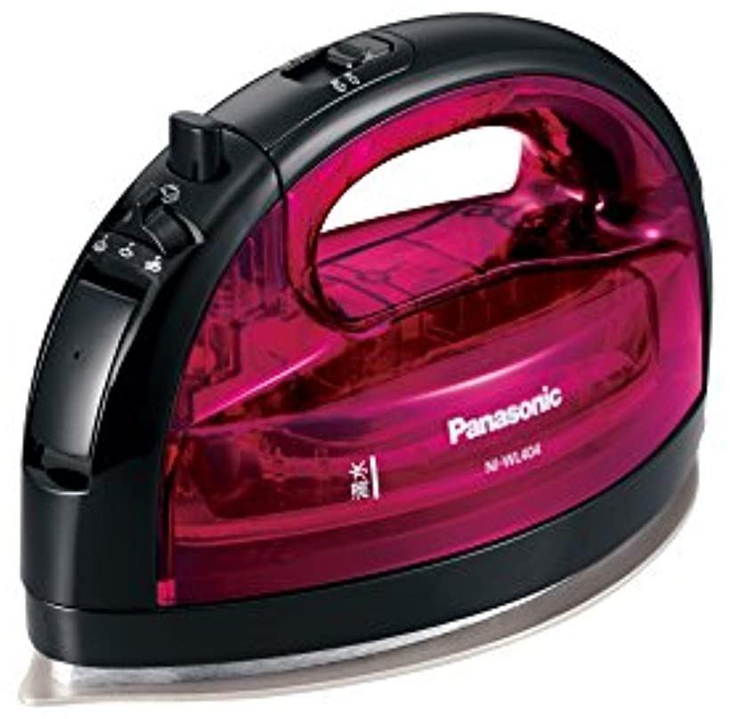 コードレススチームWヘッドアイロン NI-WL404-P(ピンク)