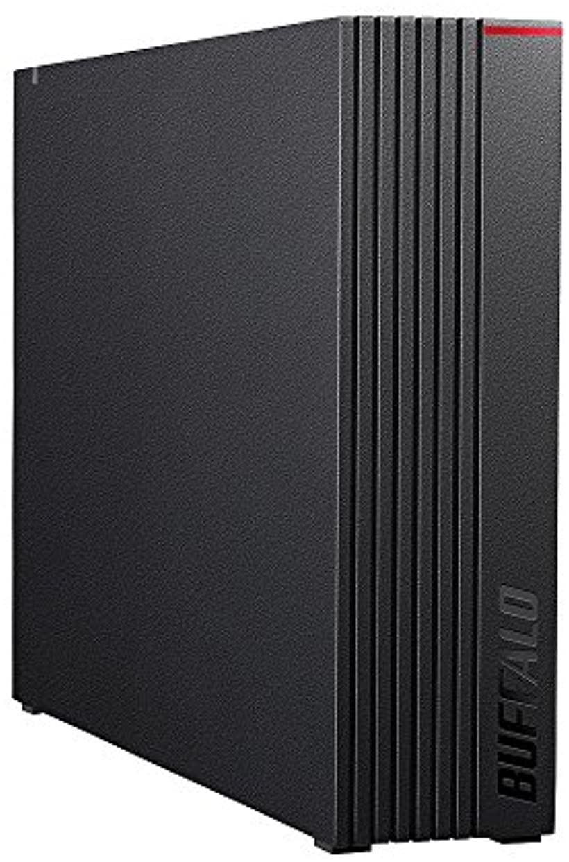 BUFFALO USB3.1 Gen.1対応 外付けHDD 3TB HD-LD3.0U3-BKA(ブラック)