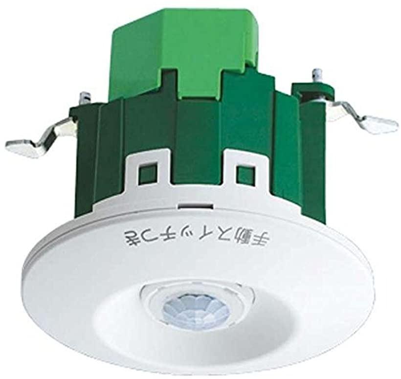 天井取付熱線センサ付自動スイッチ 親器ホワイト WTK2411K