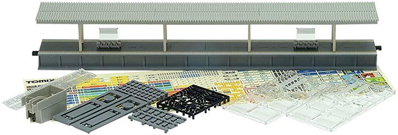 TOMIX Nゲージ 島式ホーム 都市型 照明付延長部 鉄道模型用品[4276]